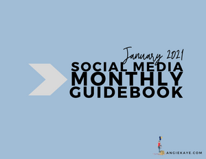January 2021 Social Media Guidebook