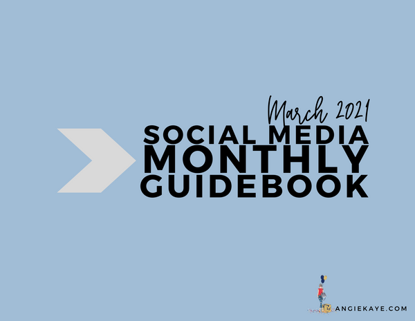 March 2021 Social Media Guidebook
