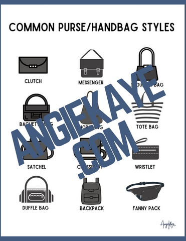 Common Purse Style Poster