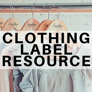 Clothing Label Resource