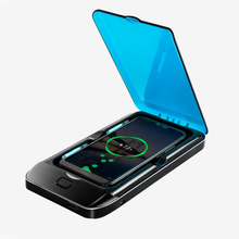 Load image into Gallery viewer, smartphone UV sanitiser steriliser & wireless charger