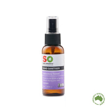 Load image into Gallery viewer, hand sanitiser 50ml lavender scent spray bottle organic