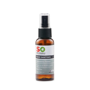hand sanitiser 50ml scent free spray bottle organic