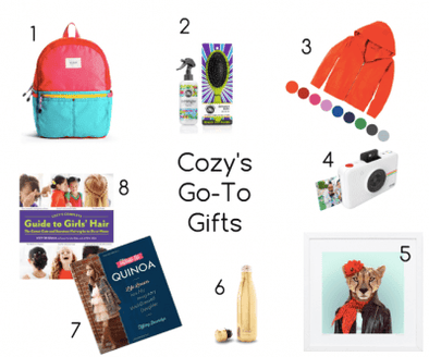 Cozy's Go-To Gifts