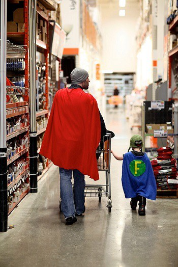 Dads Make Great Heroes
