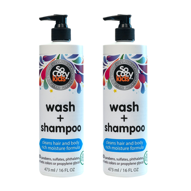 Wash+Shampoo Pump 16oz. – 2 pack