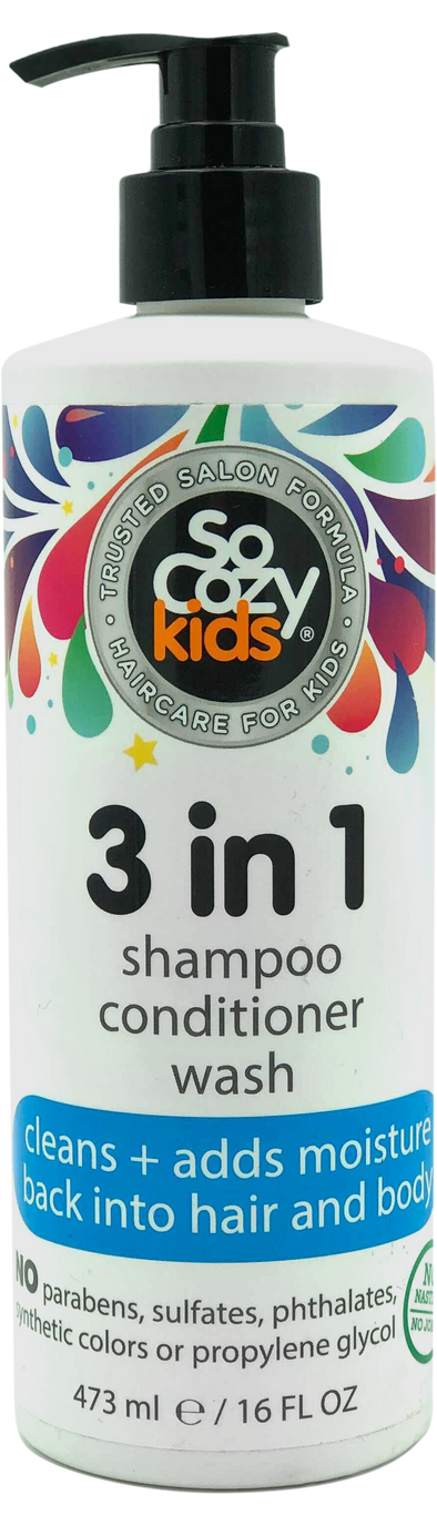 SoCozy 3-in-1 (Shampoo + Conditioner + Body Wash)