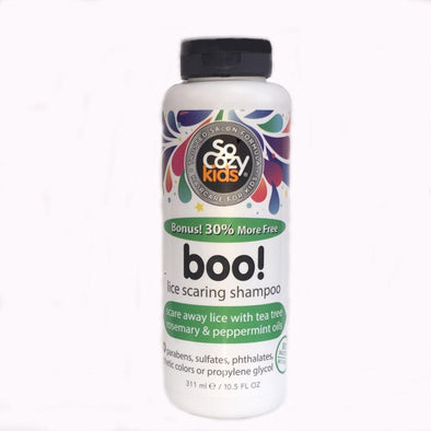SoCozy Boo! Lice Scaring Shampoo for Kids