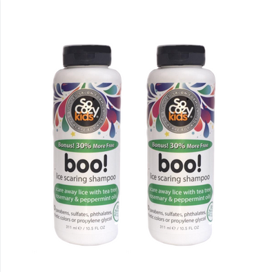Boo! Lice Scaring Shampoo 8oz-2 pack