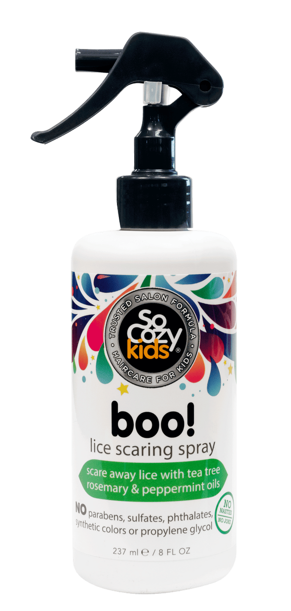 Boo! Lice Scaring Spray