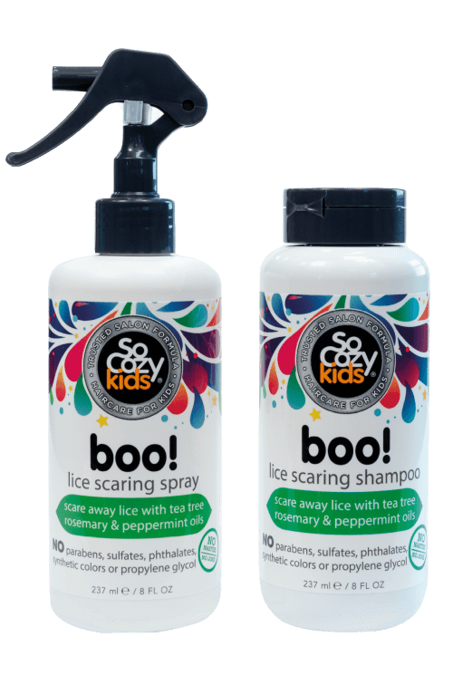 Boo Lice Prevention Spray + Shampoo – 2 pack
