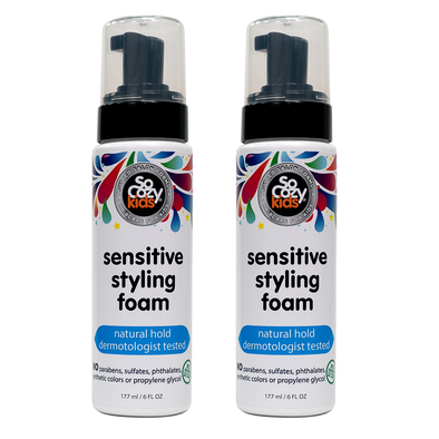 Sensitive Styling Foam 6oz- 2 pack