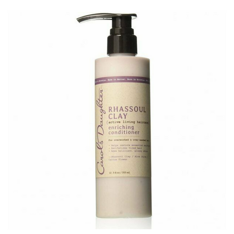 rhassoul conditioner apres shampoing carol's daughter cheveux boucles frises crepus