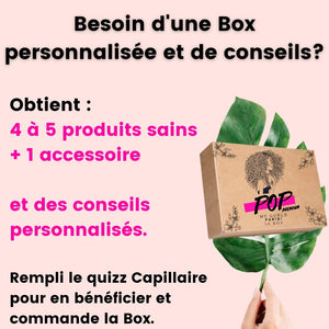 PopMyCurls, La box personnalisée - POP MY CURLS PARIS