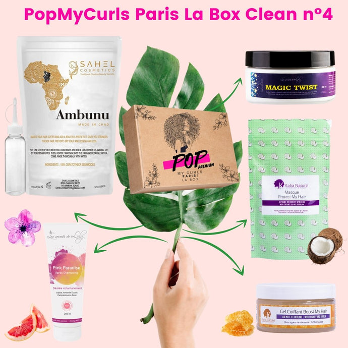S'abonner à PopMyCurls box de Mars pour seulement 49,90 € ! - POP MY CURLS PARIS