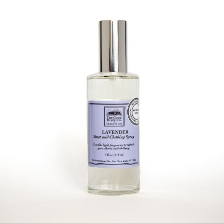 Lavender Sheet + Clothing Spray 4 fl oz