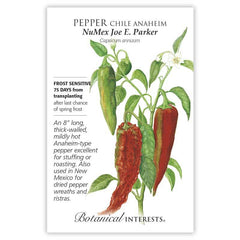 Pepper Chile Anaheim NuMex Joe E. Parker
