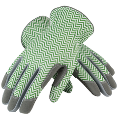 Mud Gloves Zig Zag Green