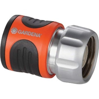 Gardena Premium Female Metal Quick Connector with Water-Stop