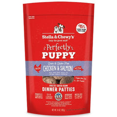 Chicken & Salmon Puppy Patties