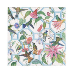Hummingbird Trellis Paper Luncheon Napkins - 20 Per Package