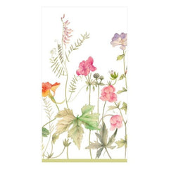 French Floral Paper Guest Towel Napkins - 15 Per Package