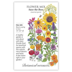 Save the Bees Flower Mix