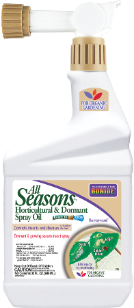 Bonide All Seasons Horticultural & Dormant Spray Oil Ready to Spray 32 fl oz
