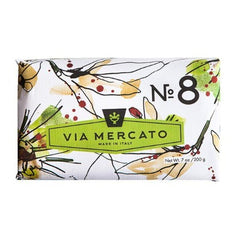 Via Mercato No 8 Soap - Clove, Vanilla Flower & Orange