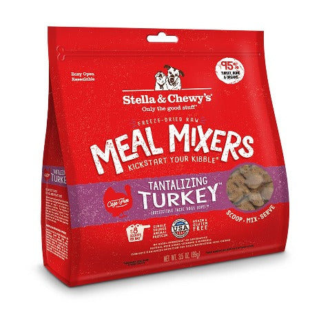 Tantalizing Turkey Meal Mixers