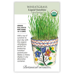 Wheatgrass Liquid Sunshine Organic