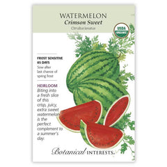 Watermelon Crimson Sweet Organic
