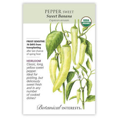 Pepper Sweet Banana Organic