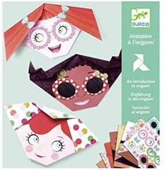 Pretty Faces Origami Paper Craft Kit