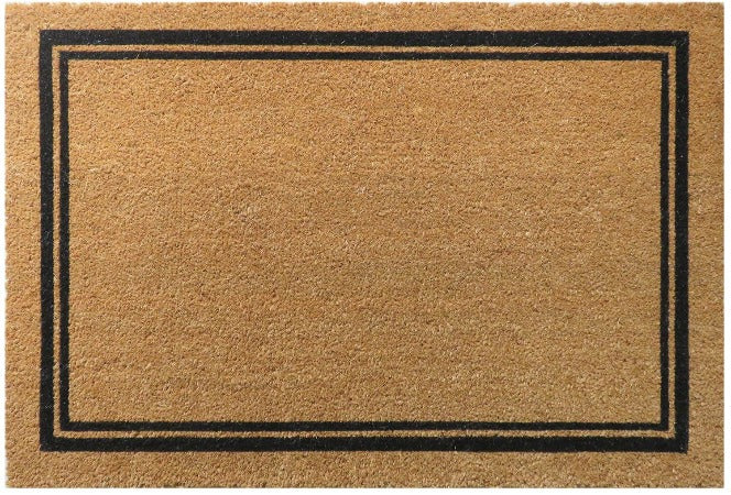 Basics Coir Doormat with Border