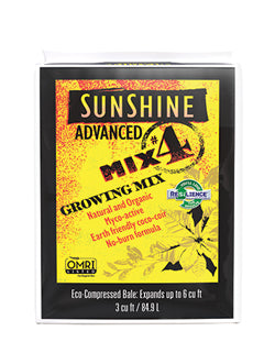 Sunshine® Advanced Mix #4 Growing Mix 3 cu ft