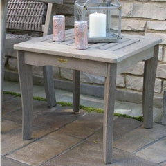 Grey Wash Eucalyptus End Table