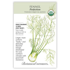 Fennel Florence Perfection Organic