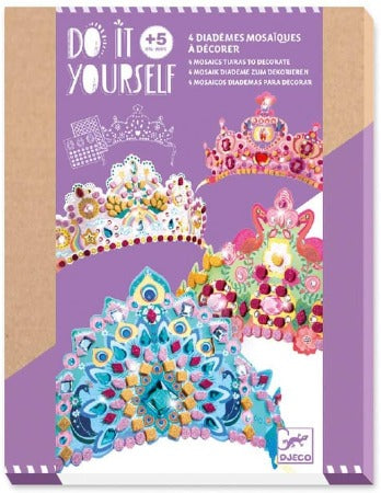 Like A Princess Mosaic Tiaras Craft Kit
