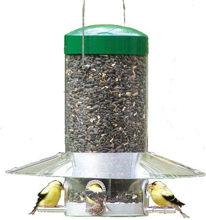 Classic Feeder with Baffle Weather Guard 12""