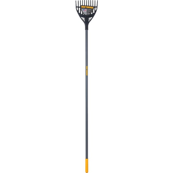 Truper Tru Tough Poly Shrub Rake 8 in 11-Tine