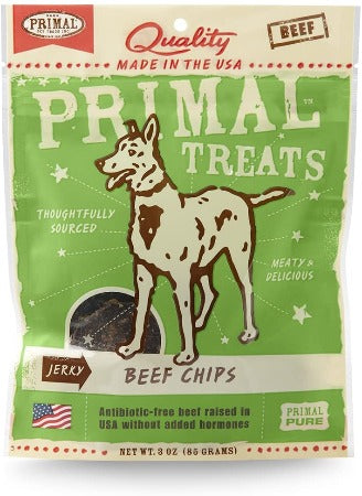 Primal Treats Beef Chips 3 oz