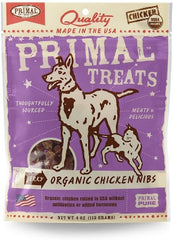 Primal Treats Chicken Nibs 4 oz