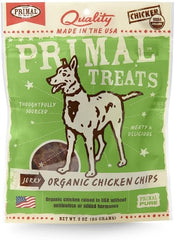 Primal Treats Organic Chicken Chips 3 oz