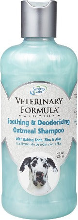 Synergy Veterinary Formula Solutions Soothing & Deodorizing Oatmeal Shampoo 17 oz