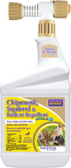 Bonide Chipmunk, Squirrel & Rodent Repellent 32 fl oz