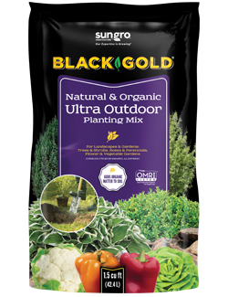 Black Gold® Natural & Organic Ultra Outdoor Planting Mix 1.5 cu ft