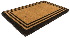 The One with the Border Extra Thick Handwoven Coconut Fiber Doormat 18