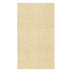 Natural Jute Paper Linen Guest Towel Napkins - 12 Per Package