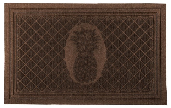 "Pineapple Weather Beater Mat 22"" x 35"""
